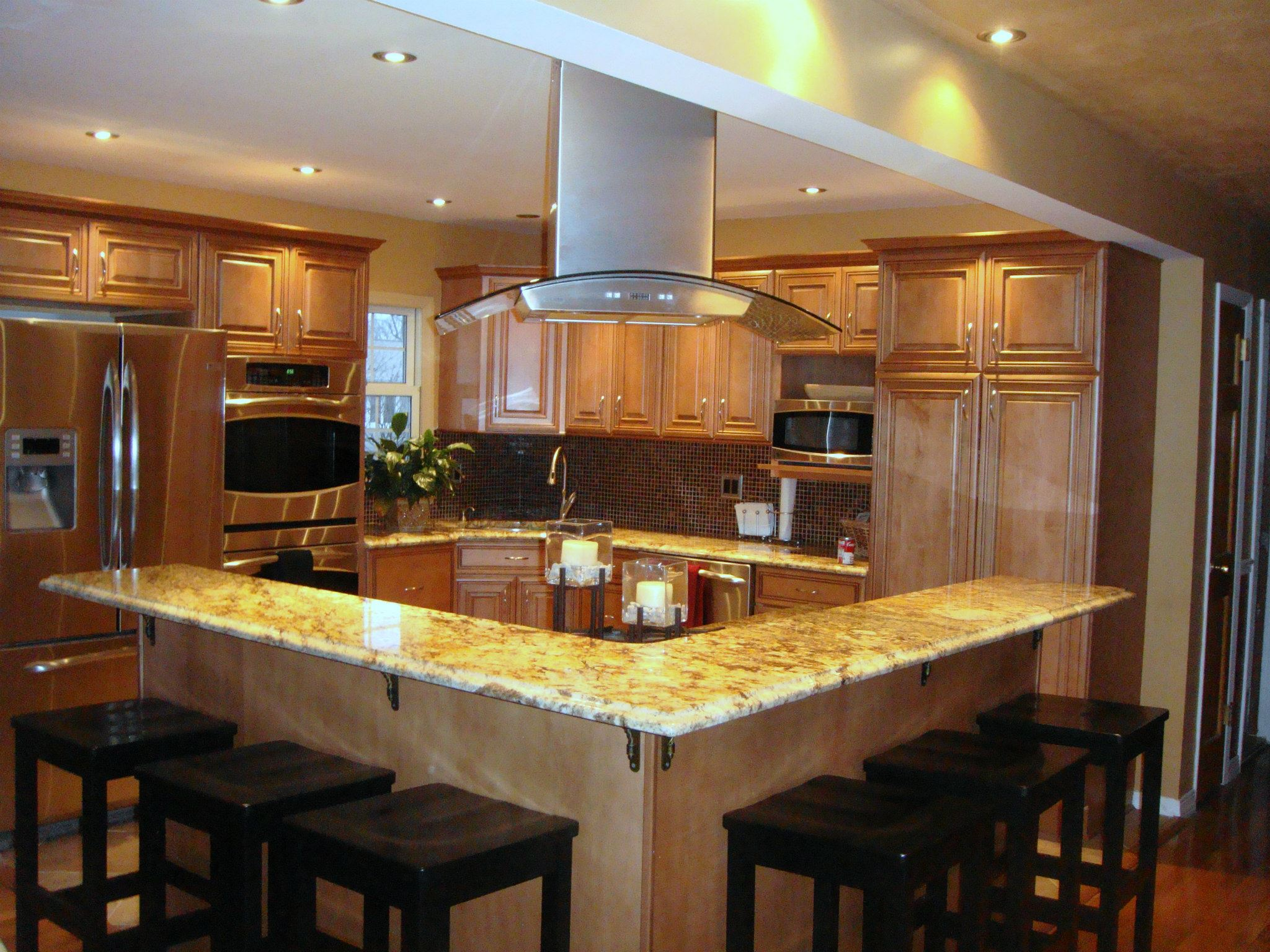 Kitchen Gallery Kitchen Remodel Open Plan Design Brian J Gallagher 39 S Custom Carpentry