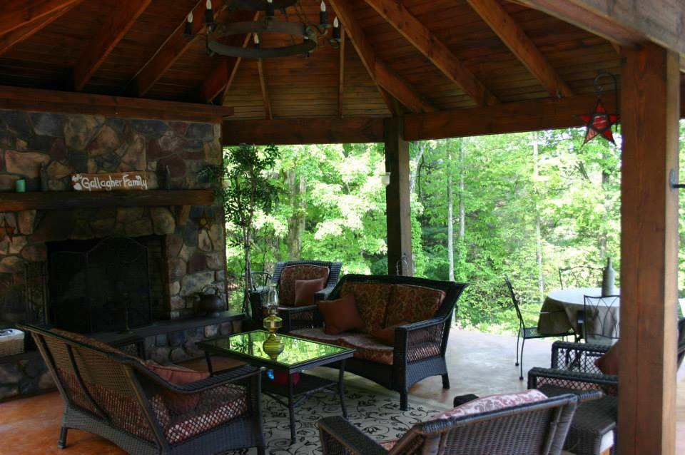 Gazebos with fireplace photo - Outdoor gazebo plans with fireplace ...